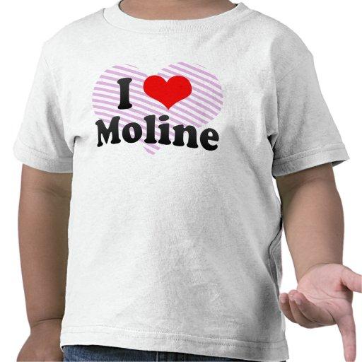 I Love Moline, United States Shirt