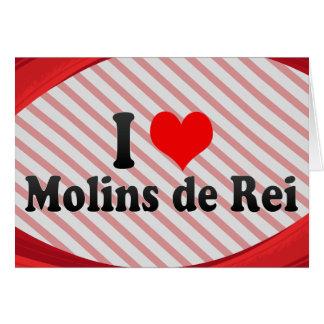 I Love Molins de Rei, Spain Card