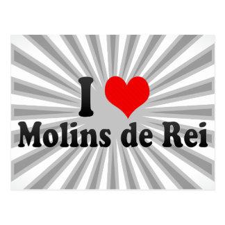 I Love Molins de Rei, Spain Postcard