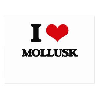 I Love Mollusk Postcard