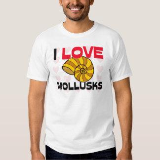 I Love Mollusks Shirt