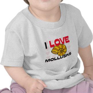 I Love Mollusks T-shirts