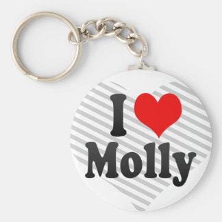 I love Molly Keychain