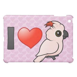 I Love Moluccan Cockatoos iPad Mini Cover