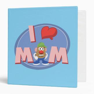 I Love Mom 3 Ring Binder