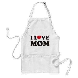 I Love Mom Apron
