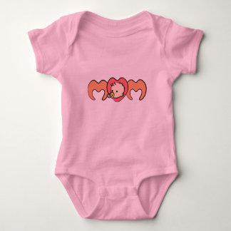 I love Mom Baby Bodysuit