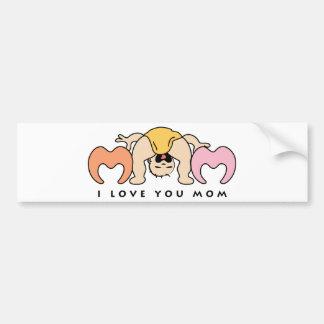 I love Mom Bumper Stickers