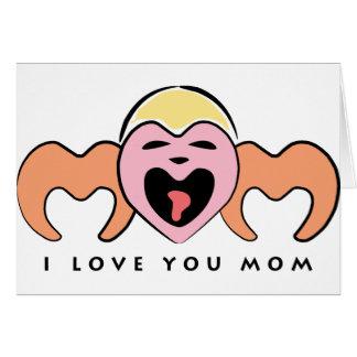 I love Mom Card