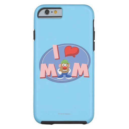 I Love Mom iPhone 6 Case