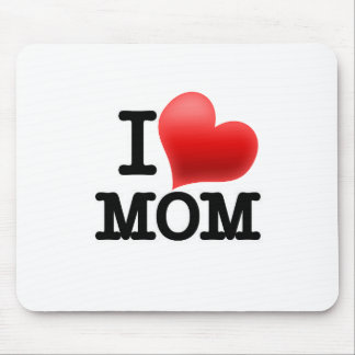 I Love Mom Mouse Pad