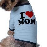I love mom pet tshirt