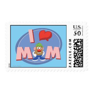 I Love Mom Postage
