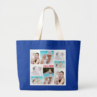 I love Mom Tote Bag for Mother's Day
