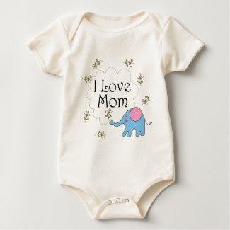 I Love Mom shirt