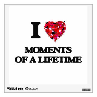 I Love Moments Of A Lifetime Room Decal