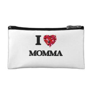 I Love Momma Makeup Bag