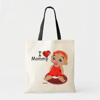 I Love Mommy Baby Girl Bags