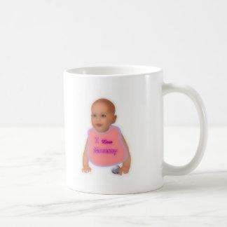 I love mommy classic white coffee mug