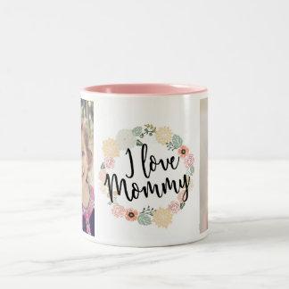 I Love Mommy Custom Photo Mug