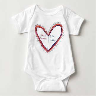 I Love Mommy & Daddy T-shirt