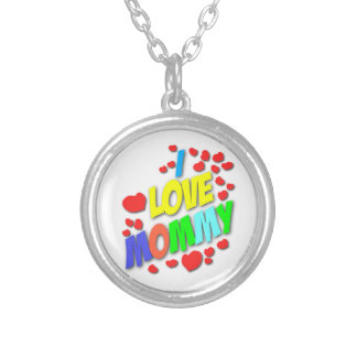 I Love Mommy Necklace