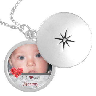 I Love Mommy Photo Locket