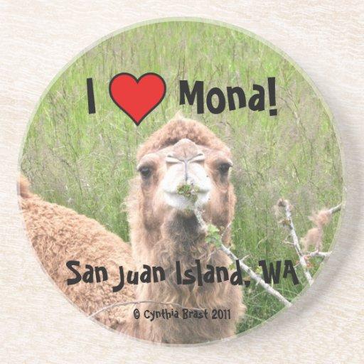 I Love Mona! Coaster