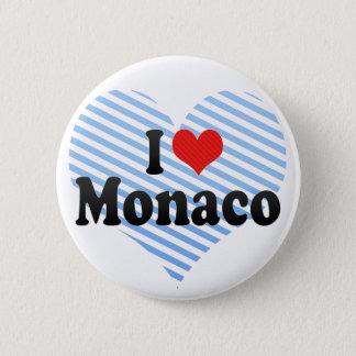 I Love Monaco Button