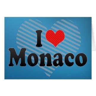I Love Monaco Card