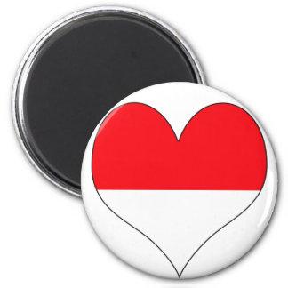 I Love Monaco Magnet