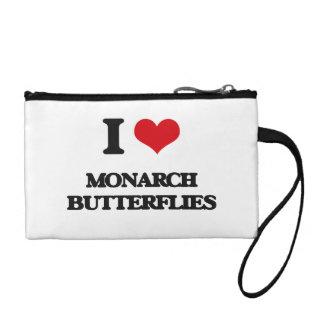 I love Monarch Butterflies Coin Wallets