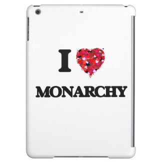 I Love Monarchy Cover For iPad Air