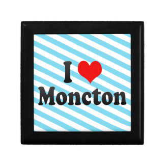 I Love Moncton Canada Gift Box
