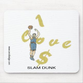 I Love Money Basketball Player Mousepad