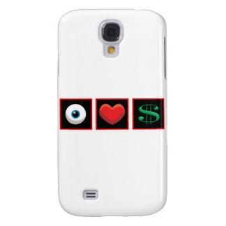 I LOVE MONEY GALAXY S4 COVER