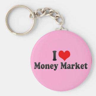 I Love Money Market Key Chains