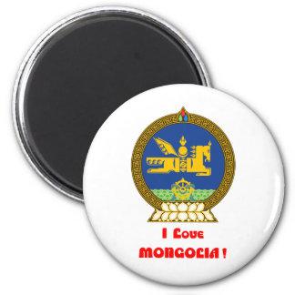 I LOVE MONGOLIA--DESIGN 1 FROM 933958STORE REFRIGERATOR MAGNET