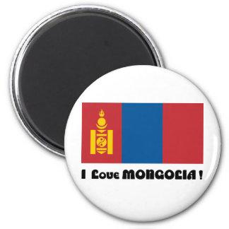 I LOVE MONGOLIA--DESIGN 2 FROM 933958STORE REFRIGERATOR MAGNET