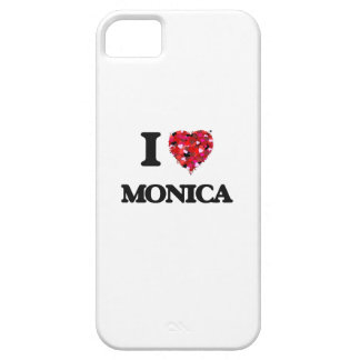 I Love Monica iPhone 5 Cases