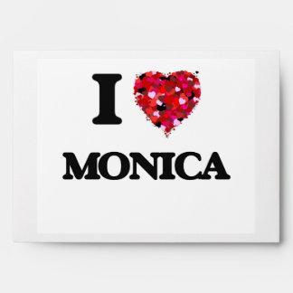 I Love Monica Envelopes