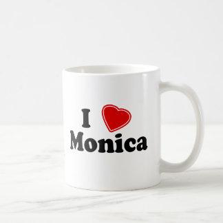 I Love Monica Classic White Coffee Mug