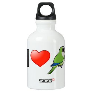 I Love Monk Parakeets SIGG Traveler 0.3L Water Bottle