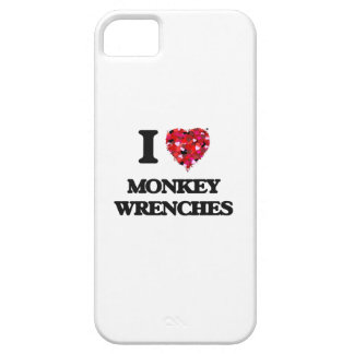 I Love Monkey Wrenches iPhone 5 Cases