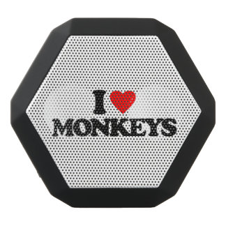 I LOVE MONKEYS BLACK BLUETOOTH SPEAKER