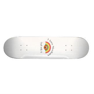 I love monkeys deal with it custom skateboard
