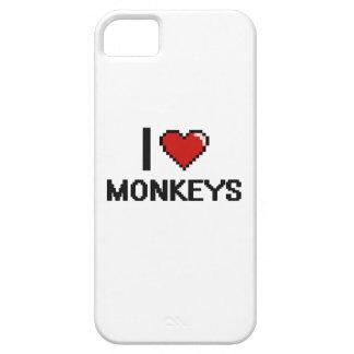 I love Monkeys Digital Design iPhone 5 Cases
