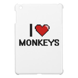 I love Monkeys Digital Design iPad Mini Case