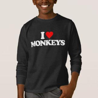 I LOVE MONKEYS T-Shirt
