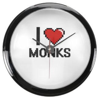 I love Monks Aquarium Clocks